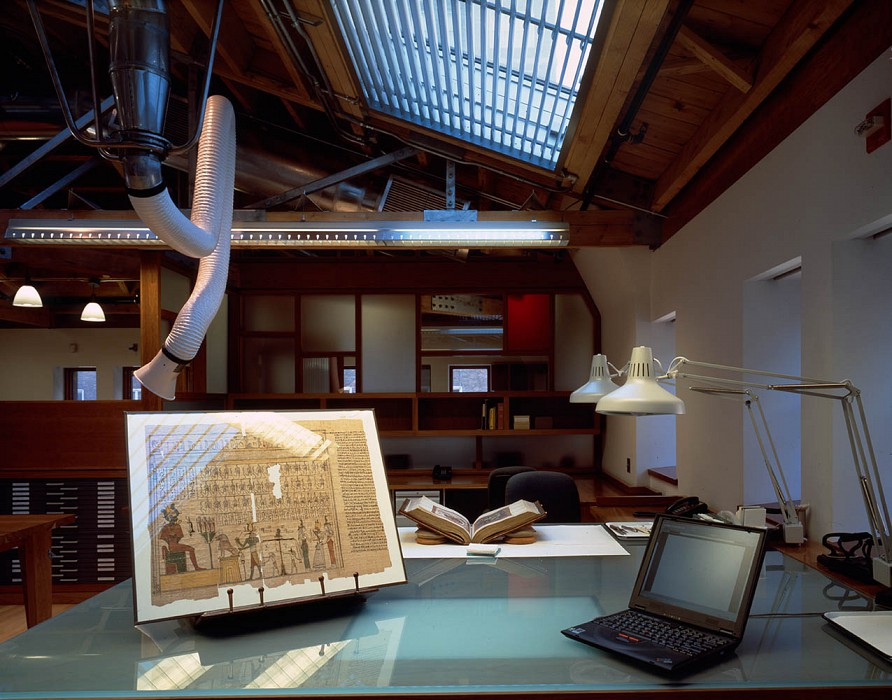 Treatment and Research, Thaw Conservation Center, Morgan Library & Museum