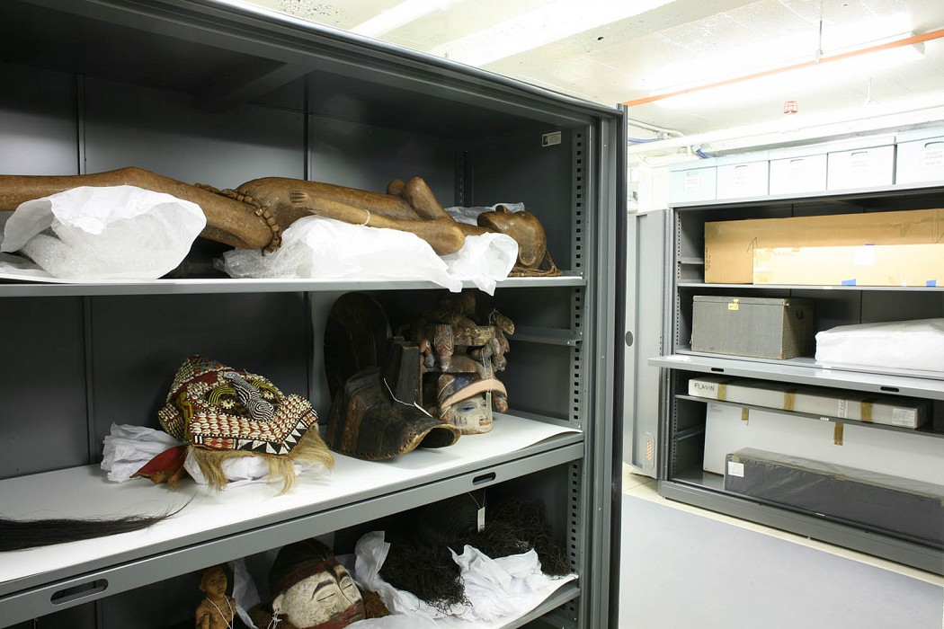 Object Storage, Allen Memorial Art Museum Expansion & Renovation, Oberlin College