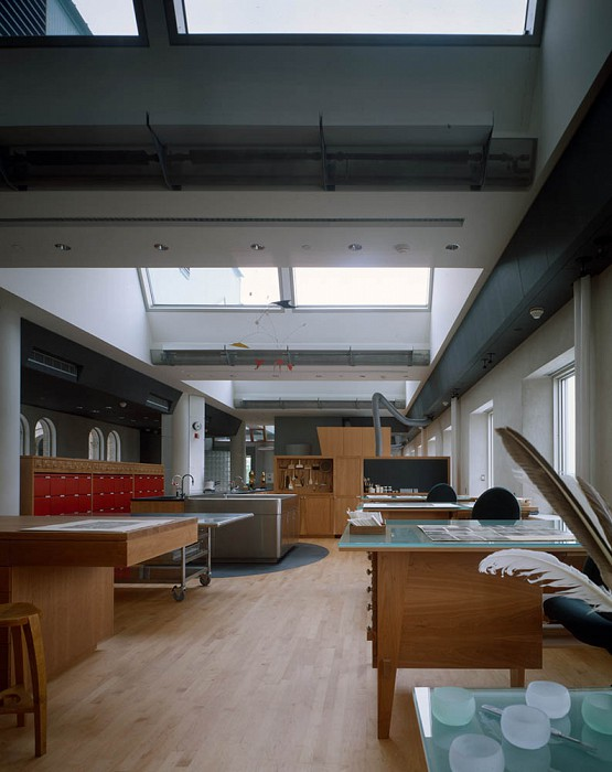 Paper Lab, Straus Center for Conservation, Harvard Art Museums